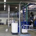 Unidade de produção de CO2 e O2